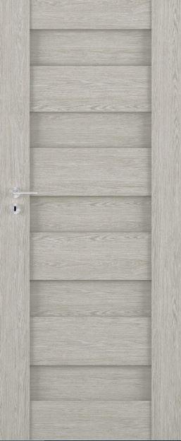 Bezfalcové rámové interiérové dveře VIVENTO - PRESTIGE PP - 01