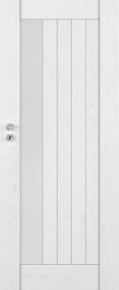 Bezfalcové rámové interiérové dveře VIVENTO - PRESTIGE PR - 02