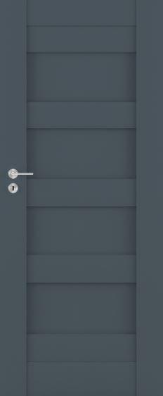 Bezfalcové rámové interiérové dveře VIVENTO - PRESTIGE PT - 01