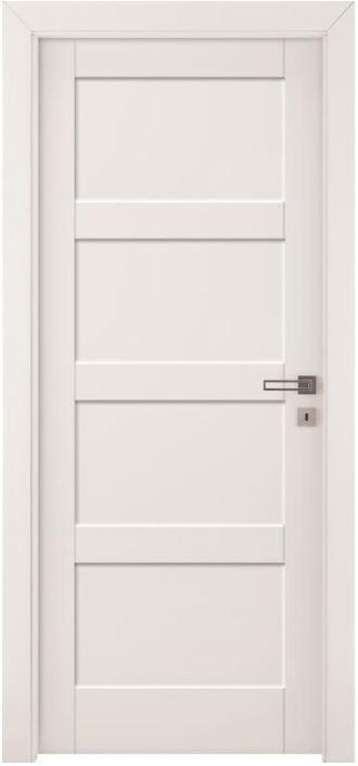 Rámové dveře Bianco FIORI 1