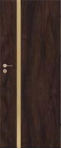 Bezfalcové deskové interiérové dveře VIVENTO - BASIC  - ASTORIA GOLD