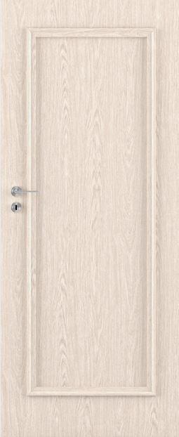 Bezfalcové deskové interiérové dveře VIVENTO - BASIC  - PRESTON 01