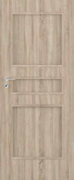 Bezfalcové deskové interiérové dveře VIVENTO - BASIC  - TRIVENTO 0/3