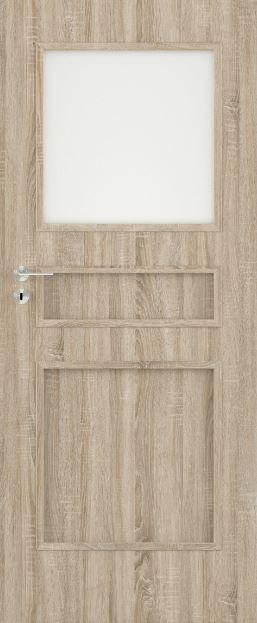 Bezfalcové deskové interiérové dveře VIVENTO - BASIC  - TRIVENTO 1/3 v1