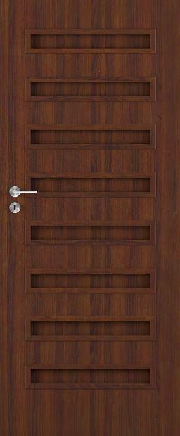 Bezfalcové deskové interiérové dveře VIVENTO - BASIC  - PALERMO 0/8