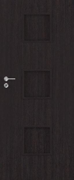 Bezfalcové deskové interiérové dveře VIVENTO - BASIC  - MADRYT 0/3