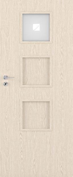 Bezfalcové deskové interiérové dveře VIVENTO - BASIC - MACADI-3 1/3