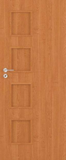 Bezfalcové deskové interiérové dveře VIVENTO - BASIC  - SAPPORO 0/4