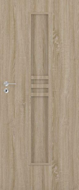 Bezfalcové deskové interiérové dveře VIVENTO - BASIC  - CARSON 01