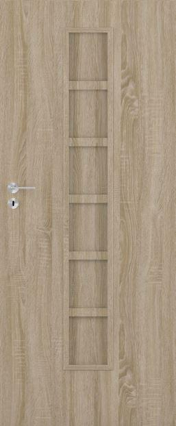 Bezfalcové deskové interiérové dveře VIVENTO - BASIC  - CARSON  02